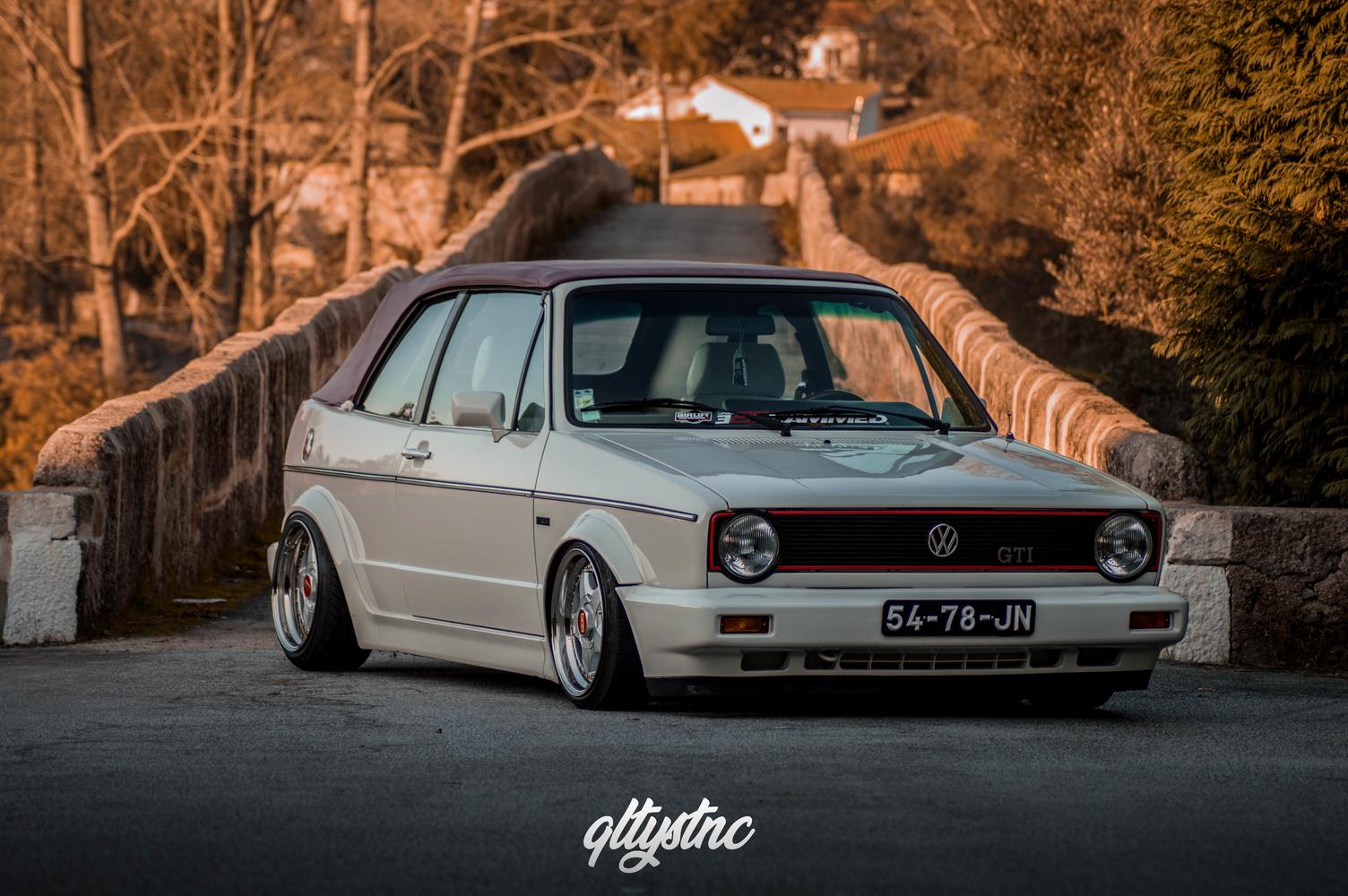 Golf Mk1 Cabrio – Rafael